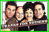 Photo of 4 seinfeld stars with the banner